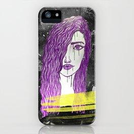 A Violet Gem iPhone Case