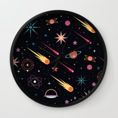 Fly Through Space Wall Clock