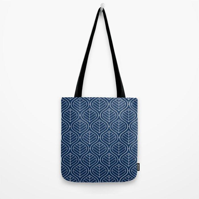 Boho Mod Indigo Tote Bag