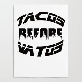 tacos & vatos Poster