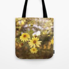Five Flowers Tote Bag
