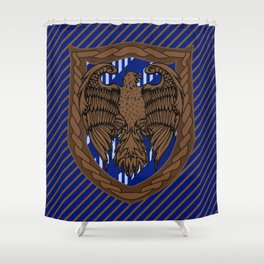 HP Ravenclaw House Crest Shower Curtain