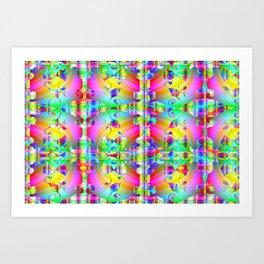Colors, colors, colors ... Art Print