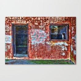 Abandonned building Canvas Print
