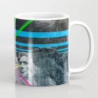 rushmore Mugs featuring Mt Rushmore, Yo by Dan Howard