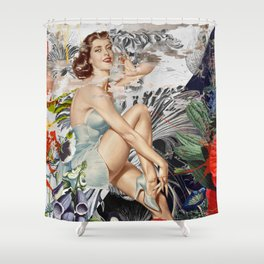 Let's Conspire To Ignite Shower Curtain