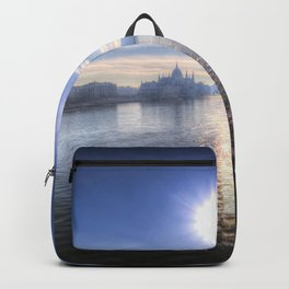 Budapest City View Backpack