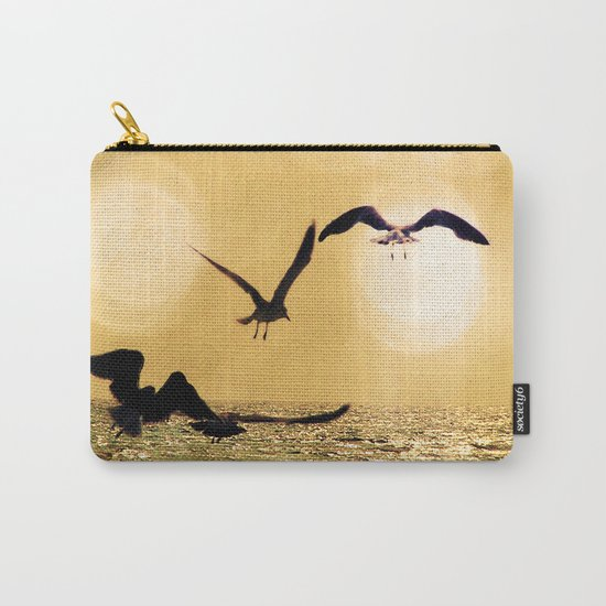 Touch the Golden Heavens Carry-All Pouch