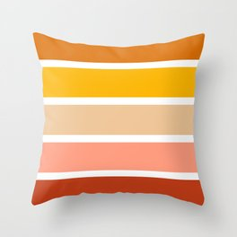 Stripes Pattern No.12 Throw Pillow