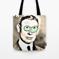 cook Tote Bags featuring - cook - by Digital Fresto