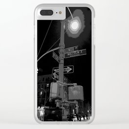 Harlem at Night Clear iPhone Case