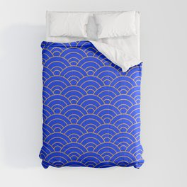 Japanese Wave Pattern  Comforters
