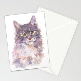 Tawny Blue Tabby Stationery Cards