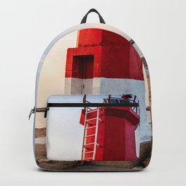 Red lighthouse  Backpack