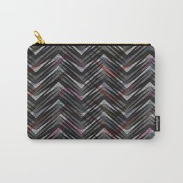 Zigzag pattern 3 Carry-All Pouch