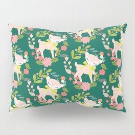 Oh My Deer! ( Green )  Pillow Sham