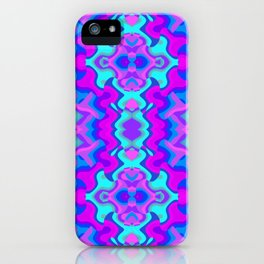 Psychedelic Wallpaper iPhone Case