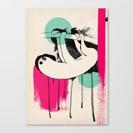 bradipo Canvas Print