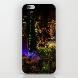Christmas colors iPhone Skin