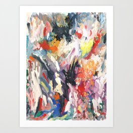 A Conversation With The Mind Art Print