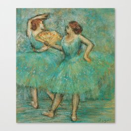 Edgar Degas - Two Dancers, 1905 Canvas Print