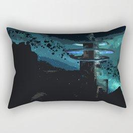 A Land Beyond Rectangular Pillow
