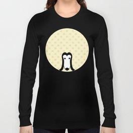 Pop Dog Afghan Hound Long Sleeve T-shirt