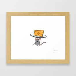 Score! Mouse Graphic Framed Art Print