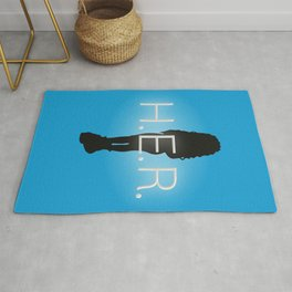 H.E.R. Music Singer Best Part Album Merch Rug