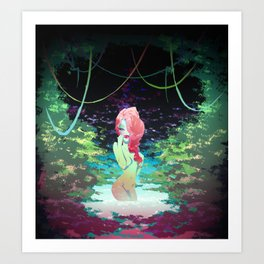 Poison Garden Art Print