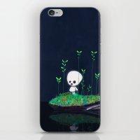 kodama iPhone & iPod Skins featuring Kodama by Jose Campa