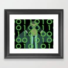 Spy on Me Framed Art Print