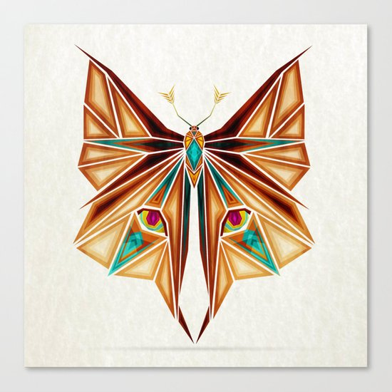 fox or butterfly?  Canvas Print