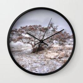 Madrone Tree Wall Clock