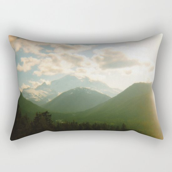 rainier . holga Rectangular Pillow