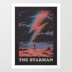 The Starman Art Print