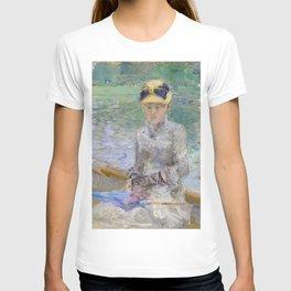 Summer's Day by Berthe Morisot T-shirt