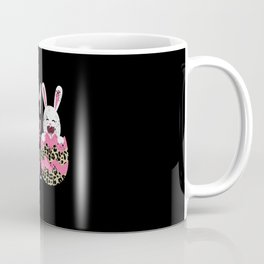 Love Like Jesus Easter Egg Easter Day Leopard Christian  Coffee Mug