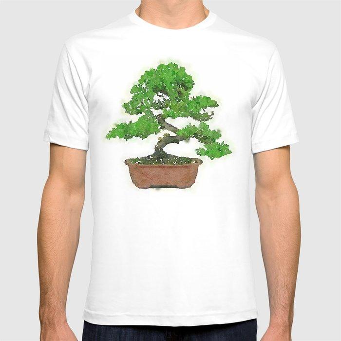 Japanese Bonsai Tree T Shirt By Mozayix Society6