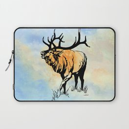 ELK IN THE MIST Laptop Sleeve