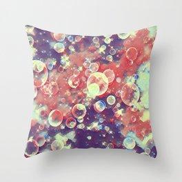 GALATHI Stunning Colors Bubbles Vintage - Bubbles Throw Pillow