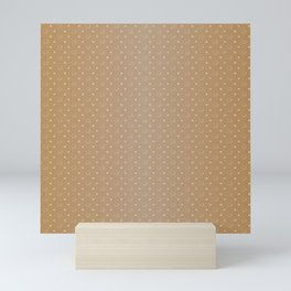 Art Deco Pattern 1 [LIGHT GOLD] Mini Art Print
