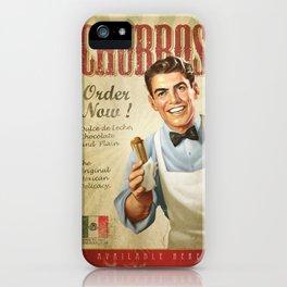 CHURROS iPhone Case