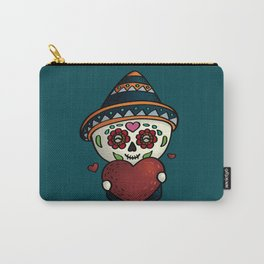 Cheerful calavera Carry-All Pouch