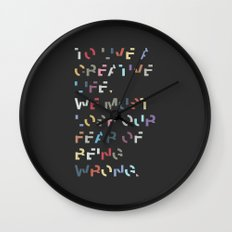 Creative Life. Wall Clock