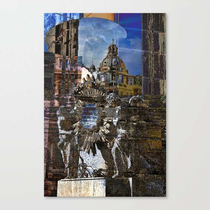Roman Impression Canvas Print
