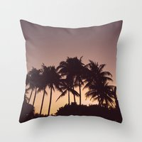 florida Throw Pillows featuring Florida by Whitney Retter