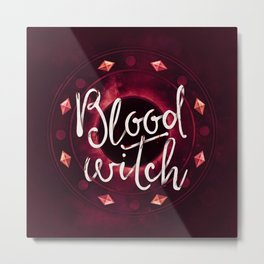 Blood Witch Metal Print