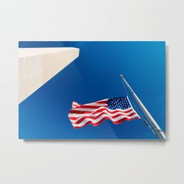 Washington Freedom Monument Metal Print