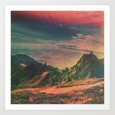 Psychedelic Planet Art Print